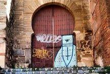 Los grafitis que destrozan Granada
