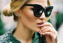 Sunglasses 2014 / My favourite sunglasses for 2014! Think of:  CHANEL FENDI PRADA RAYBAN MYKITA SPECTRE DIOR MIU MIU CELINE