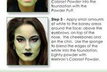 Stage Makeup Fun / Tricks and Techniques
