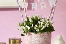 Muttertag / Rezepte, Dekoration, DIY- sowie Geschenk-Ideen und vieles mehr rund ums Thema Muttertag