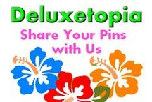 Deluxetopia - Totally Awesome Stuff / Be Awesome & Show Your Stuff. Pin as often as you like: Images, Products, Ideas, Travel, Activities, Crafts, Etc. -- Good Vibes :)   & Be sure to Share Deluxetopia with your Friends and Like Us on Facebook @ https://www.facebook.com/totallyawesomestuff/