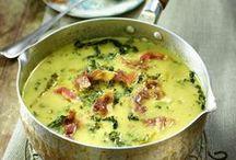 Leckeres aus dem Suppentopf / Hier findet ihr tolle Suppen-Rezepte zum Nachkochen: ob als leckere Vorspeise oder köstlicher Hauptgang.