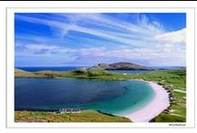 Outer Hebrides (Western Isles) / The Outer Hebrides have some of the best beaches in the UK and is a stunning place to visit.