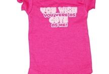 """""""Wildchild"""" collection / Let your little one express herself with this fun and brightly-colored bodysuit. 0-9 months, $6.00 http://www.fuzzyfreckles.com/short-sleeve-slogan-bodysuit.html"""