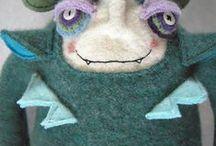Dolls & Stuffed animals / by Dana Yearsley