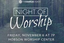 The Compass Church Events! / The Compass Church, a family-friendly place with practical, biblical teaching, contemporary worship and dynamic programs for all ages. Three locations in the western suburbs of Chicago. Hobson Campus: Saturday 5p, Sunday 9:15 & 11:15a   95th Campus: Sunday 9:30 & 11a   Wheaton Campus: 8:30 & 10:15a   thecompass.net