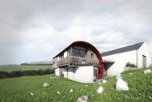 2020 Architects / Irish House Designs on the drawing board and on site.