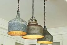 Lampshades & lights diy