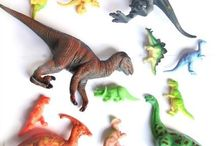 Dinosaurs Activities / Dinosaur Arts and Crafts - Sensory Play - Fossils - Small World Play - Mud and more.