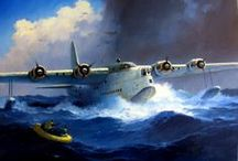 Flugboote, Wasserflugzeuge, Waterplanes, Flying boats / by Robert Busbach