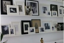 Interiors - Photo wall idea