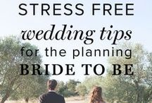 Wedding Tips / Planning a wedding is no piece of expensive cake! It takes many months of creativity and vision to produce the final product. These are a few of our tips to help you along the way.