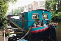 House Boats / House boats are often moored in the most extraordinary surroundings, capturing a mood, a sense of adventure...an escape from the ordinary!