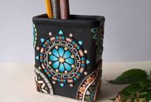 Polymer Clay Vessels / by Tami Cargile
