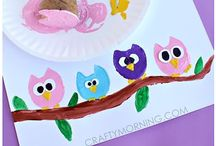Owl Activities for Kids / Owl arts, crafts, sensory and learning activities for kids.