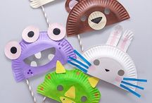 Paperplate Projects for Kids / Arts and crafts ideas using paper plates.