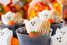 Healthy Halloween Treats! / Pumpkinlicious and homemade recipes to share with friends and family plus innovative alternatives for healthier treats this Halloween!