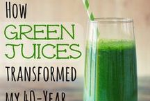 Delicious Green Juice Recipes / Green juices and all their beneficial powers when trying to achieve weight loss , anti-inflammation remedies, increase in energy and natural boost to immunity.
