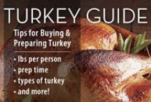 Thanksgiving Turkey Recipes / The main course or main dish of thanksgiving.