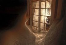 Lighted Windows / There is magic in the air...