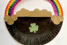 St Patricks Day Activities / Children's St Patrick's Day Arts and Crafts - Sensory - Learning activities - Food and Drink - Rainbows - Coins - Leprechauns and more