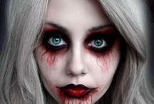 Fantastic make-up, special effects & body paint as art ... / makeup, body paint, special effects, zombie, dark, face painting, sugar sculls etc.