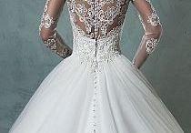 Suknie ślubne długie.