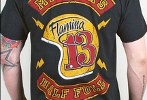 Tees / T's and designs by Flaming13 available from Flaming13.com