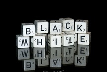 It's Black and White / by Lori Thompson Zanzinger
