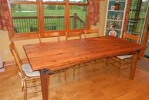 Legged Tables / by Antique Woodworks