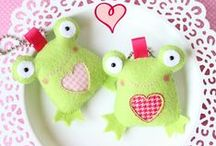 DIY - Felt animals & other creatures :)