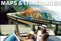 Maps & Itineraries / Of all the world's great coastlines, none can compare to California's–for its truly unique combination of beauty, variety, and accessibility and the extraordinary range of ways to enjoy the landscape.  These are only a few of the reasons that California's Central Coast is known as the home of The Original Road Trip.