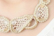 Lace and beads ❀