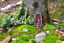 Tiny fairy houses  ❀
