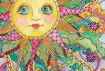 Zentangle inspiration  / by Robin Stratton