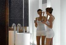 Fürdőszoba - Enteriör / Különböző stílusban kialakított fürdőszobák