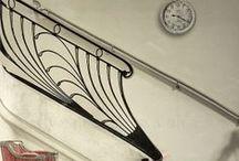 Belső lépcső, korlát - Enteriőr / Különböző stílusú belsőlépcsők
