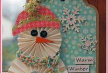 Kids craft - winter & christmas