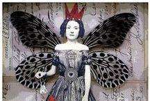Altered Art~Mixed Media~Assemblage / by Ruby Moon