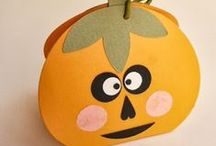 Kids craft - autumn & halloween
