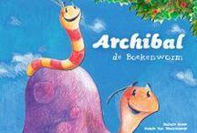 Archibal de boekenworm / le dévoreur de livres / www.archibal.org