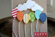 DIY - Greeting cards, scrapbook cards