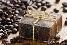 DIY Coffee soap recipes / Diy ideas on making coffee soaps