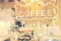 Coffee themed bridal shower / Coffee themed shower ideas.