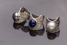 A ring to inspire, adore and wear, wear, wear / The Wave Ring with Lapis or pearls and the inspirations behind the design