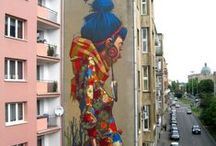 ART ∞ MURALS • BUILDINGS / Street Art over building walls or building complexes around the world.