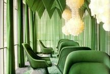 Monochromatic Interiors