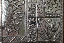 Pewter art and templates