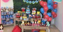 Festa Patrulha Canina / Festas Criativas e Personalizadas você encontra aqui. Procurando fofuras para a sua festa? Na nossa loja tem! http://loja.danifestas.com.br/