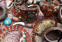 Ethnic jewelery / The beauty of the world through its beautiful jewels...